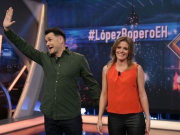 Iñaki López y Andrea Ropero en 'El Hormiguero 3.0'