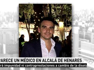 Pablo Escribano, desaparecido