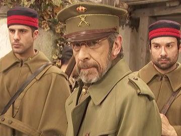 El general Pérez de Ayala regresa a 'Puente Viejo' lleno de ira