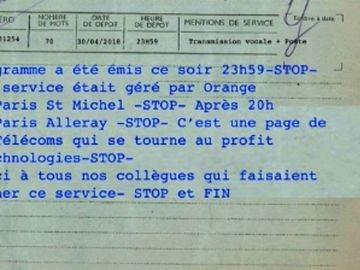 Acaban los telegramas en Francia después de 139 años de servicio