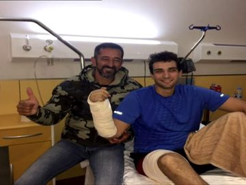 El Dr. Cavadas reimplanta la mano derecha al marine de EEUU que la perdió en un accidente