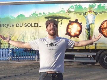 Arnau Mateu, desde el 'Circo del Sol' a la competición de 'Ninja Warrior'