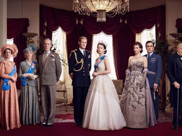 La familia real de 'The Crown'