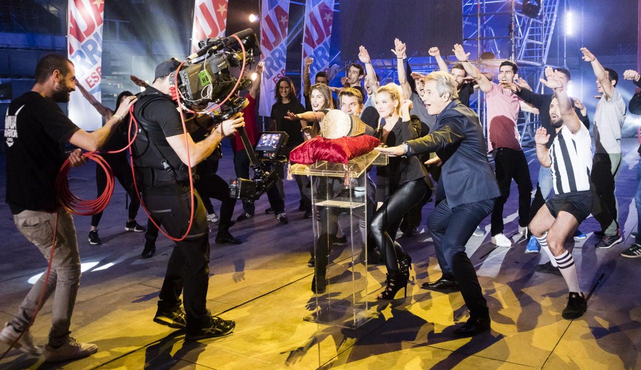 Así se vivió la final de la segunda edición de 'Ninja Warrior' tras las cámaras