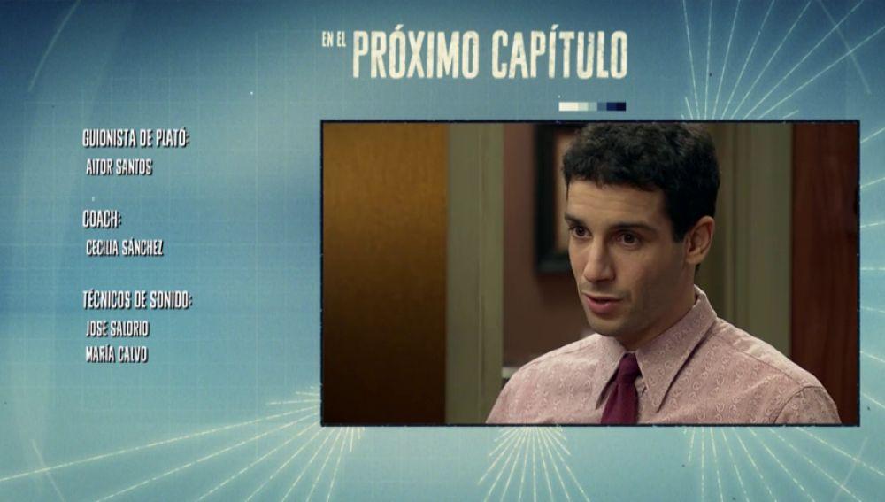 Ignacio confiesa a Durán y a Quintero sus averiguaciones sobre Charo