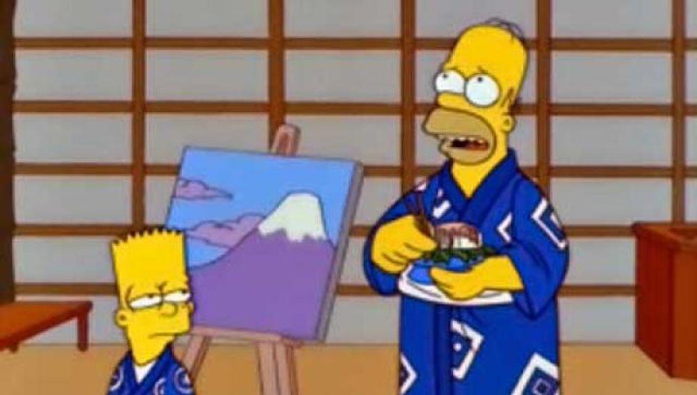 'Los Simpson' en Japón