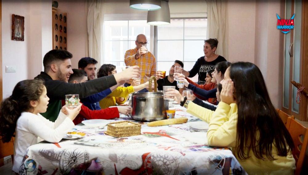 Jesús Javier, trece hermanos y un solo reto: ganar 'Ninja Warrior'