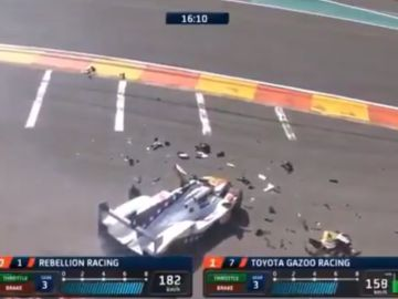 El accidente de Pietro Fittipaldi