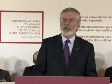 """Gerry Adams: """"Es un momento histórico"""""""