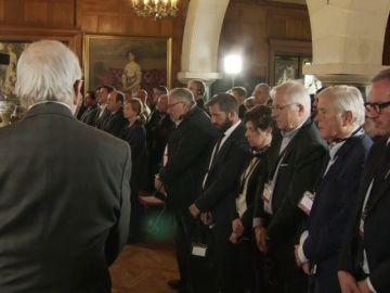 """Minuto de silencio en Kanbo """"en honor a todas las víctimas"""" que ha dejado ETA"""