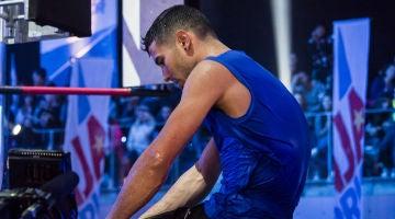 La dramática caída que deja a Sergio Verdasco a un paso de conseguir el título 'Ninja Warrior'