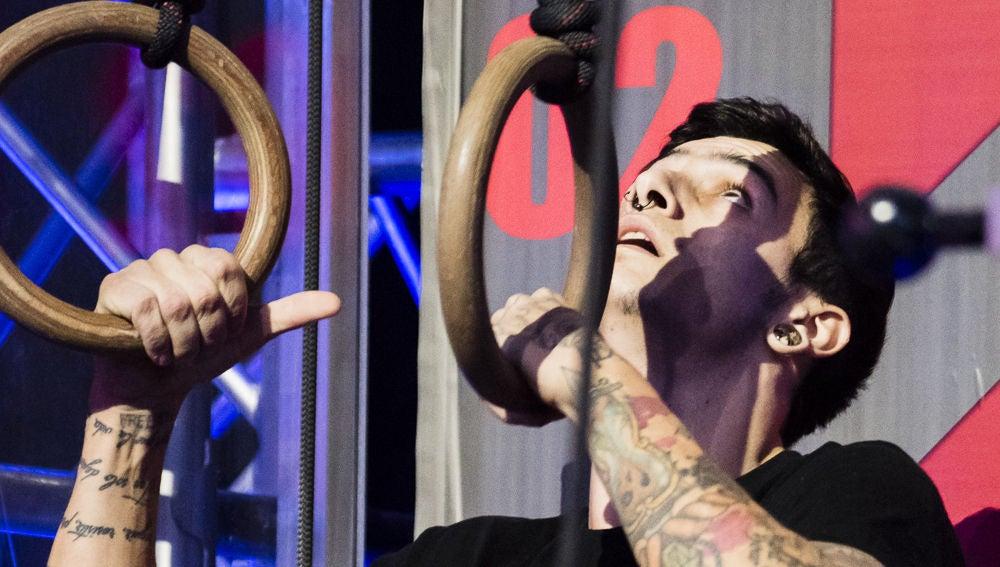 Jonathan Grande, de trepar las calles a escalar en 'Ninja Warrior'