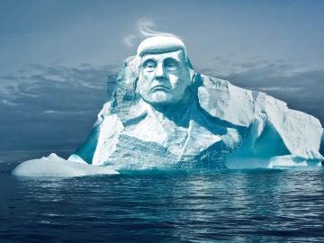 Así sería la escultura de Donald Trump