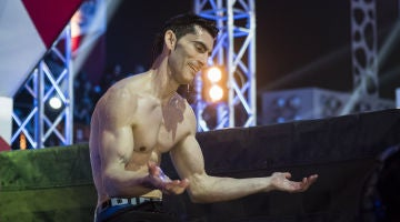 El chapuzón infernal de Iris Matamoros en la final de 'Ninja Warrior'