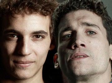 Miguel Herrán y Jaime Lorente, Río y Denver en 'La casa de papel'