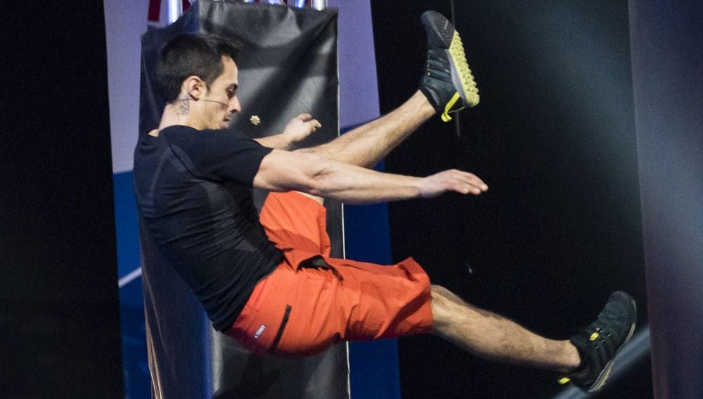 Javier Cano, el escalador que consigue tocar la cima de 'Ninja Warrior'