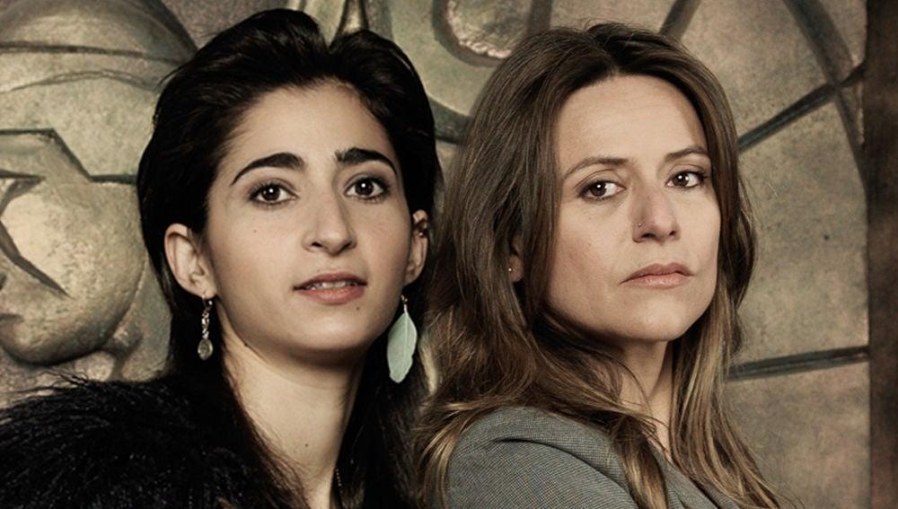 Alba Flores e Itziar Ituño son Nairobi y Raquel Murillo en 'La casa de papel'