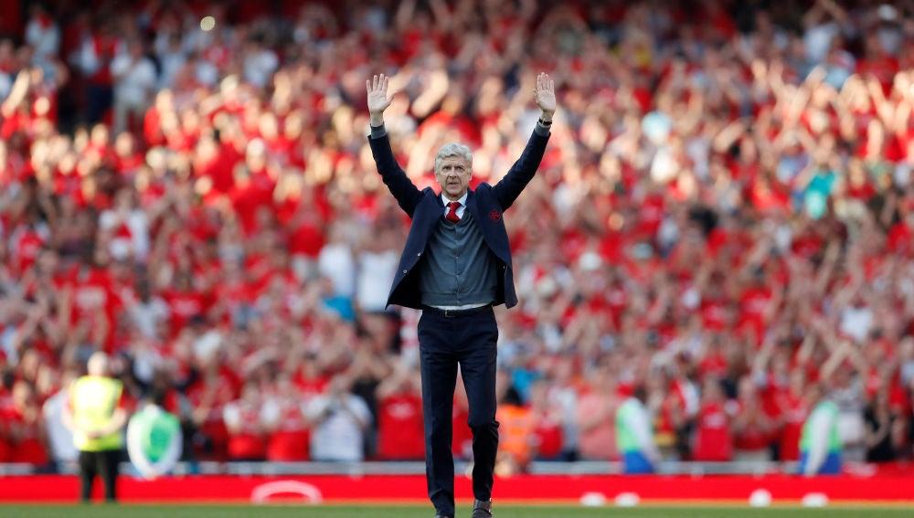 Wenger se despide de la afición del Arsenal