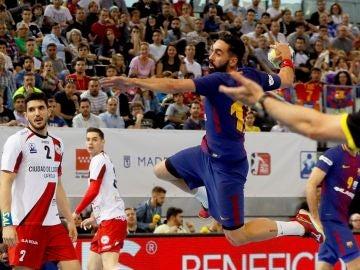 Valero Rivera del Barcelona Balonmano