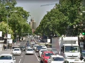 Calle María de Molina, en Madrid
