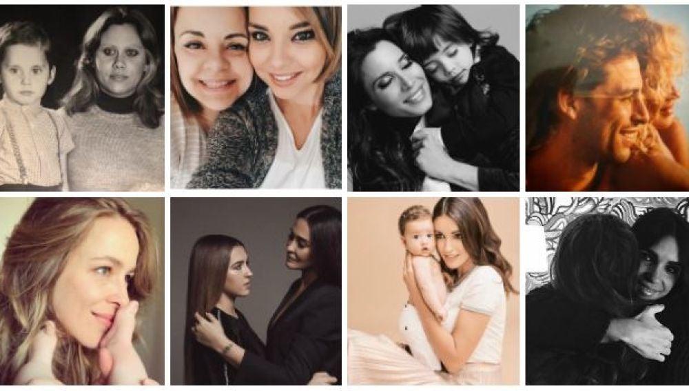 Los famosos celebran el Día de la Madre