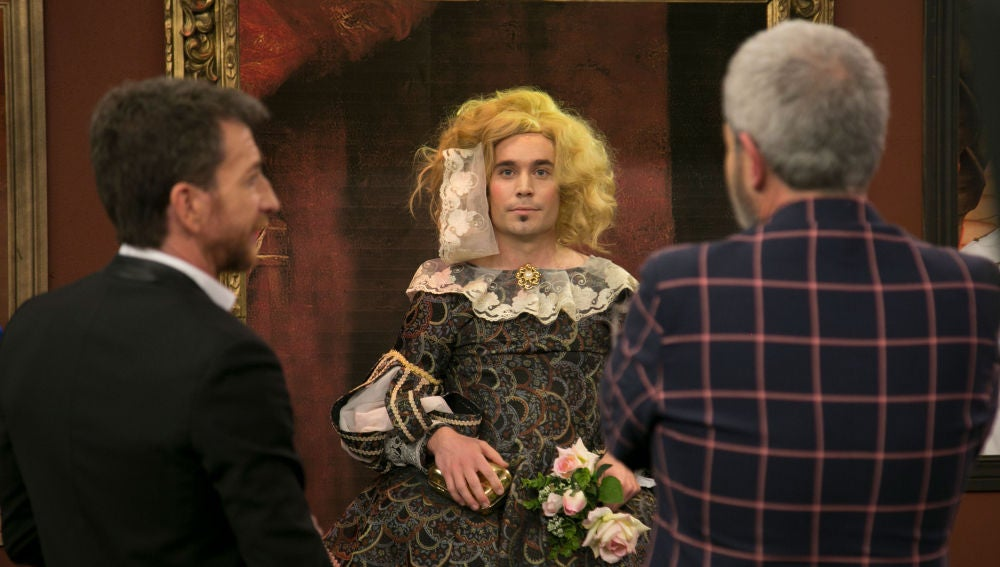 Lorenzo Caprile descubre en 'El Hormiguero 3.0' un museo donde los cuadros cobran vida