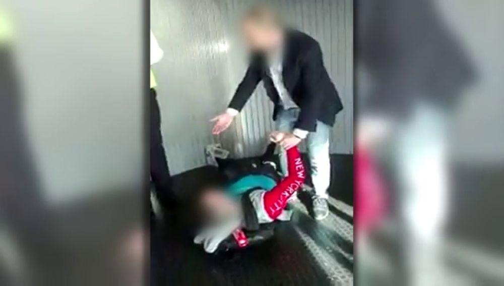 Un video de un pasajero en estado de embriaguez impulsa la denuncia del servicio PMR