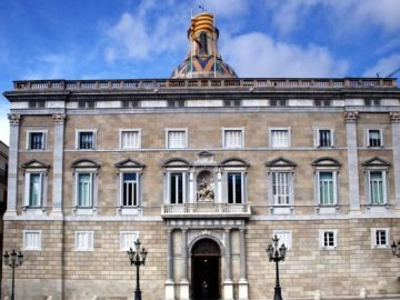 Imagen de la fachada de la Generalitat