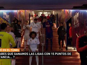La frase de Piqué a Nacho en el túnel del Camp Nou