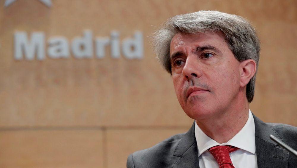 El presidente en funciones de la comunidad, Ángel Garrido