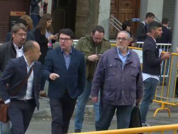 Los exmiembros de la Mesa del Parlament procesados por el Supremo esgrimen su inmunidad parlamentaria
