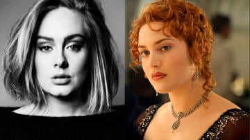 Adele como Rose es clavadita a Kate Winslet