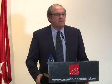 El portavoz del PSOE en la Asamblea de Madrid, Ángel Gabilondo