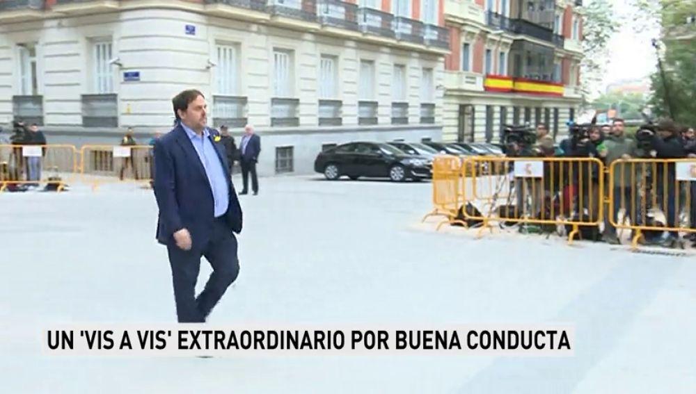 La cárcel de Estremera premia a Junqueras con un vis a vis extraordinario por su buena conducta