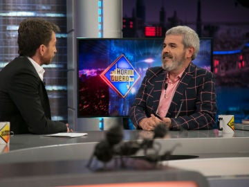 Lorenzo Caprile deja sin palabras a Pablo Motos