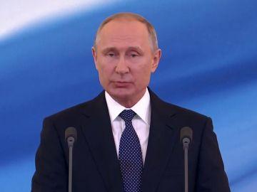 Putin toma posesión de su cuarto mandato al frente del Kremlin
