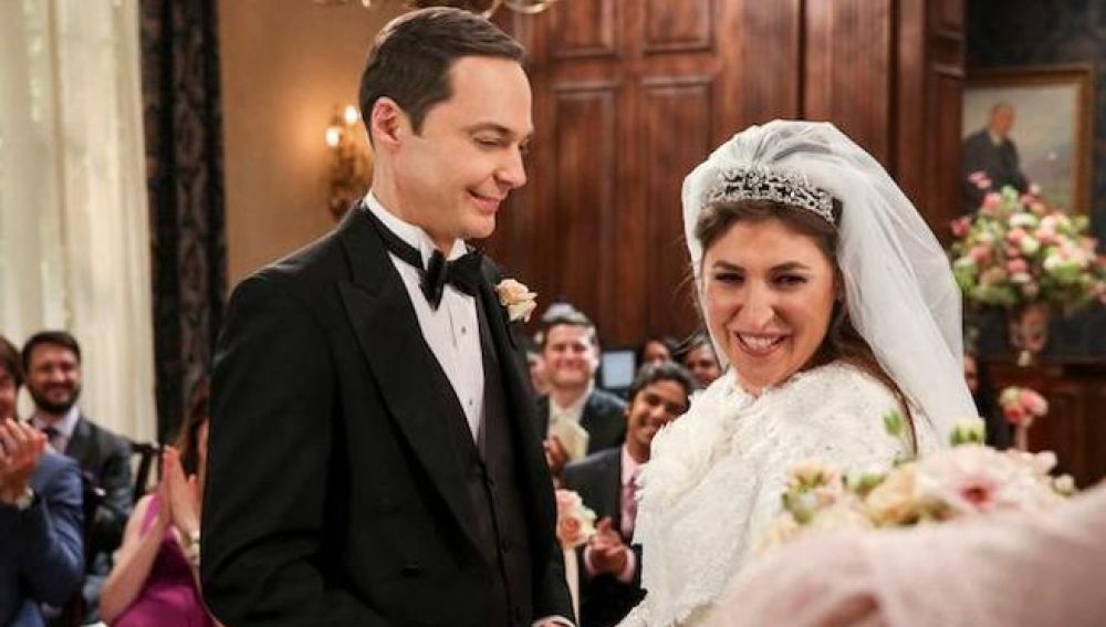 La boda de 'The Big Bang Theory'
