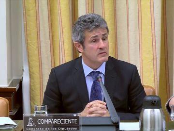 Fernández Gayoso  comparece ante la comisión del Congreso que investiga la crisis financiera