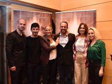 Mario Mayo, Víctor Sevilla, Paola García-Sanjuán Machado, Jorge Ramos, Lola Marceli y Paula García-Sabo