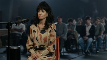 Esther Lago declarando durante el juicio