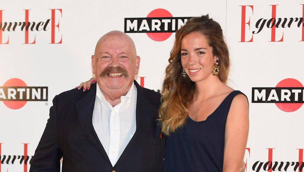 José María Íñigo y su hija Piluca