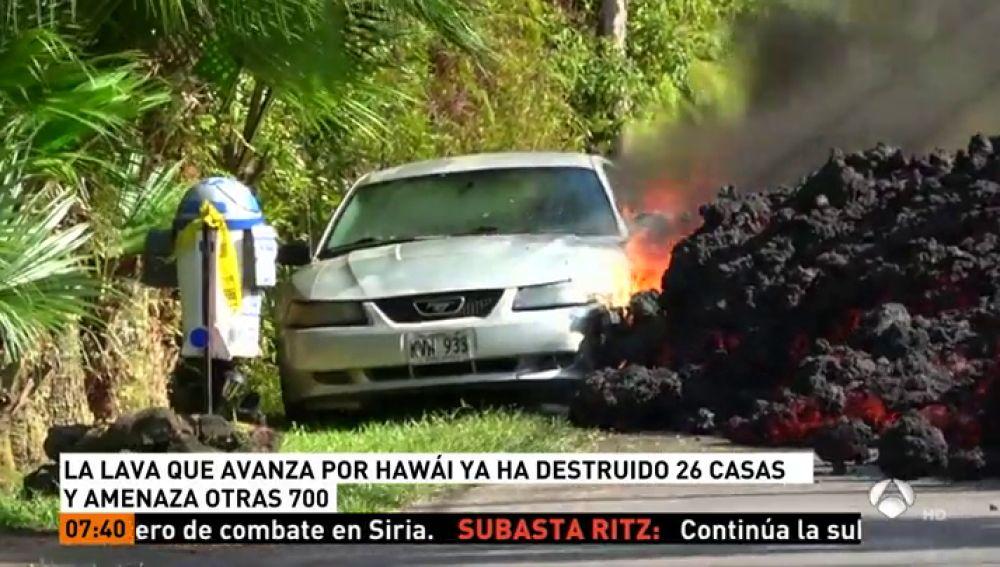 ANTENA 3 TV | Una cámara capta el momento en que la lava del volcán ...