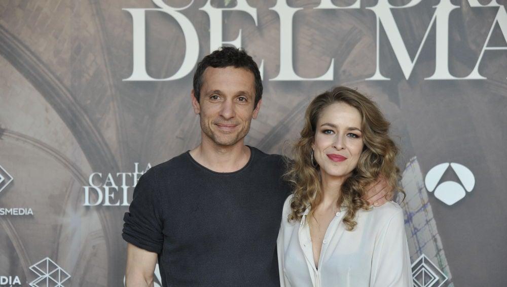 Pablo Derqui y Silvia Abascal son Joan y Elionor