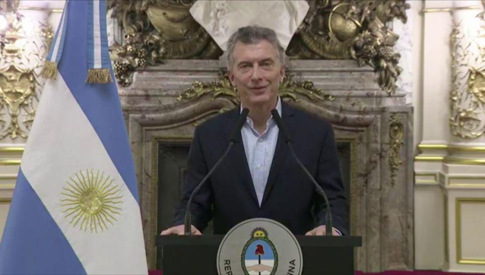 Discurso íntegro de Macri