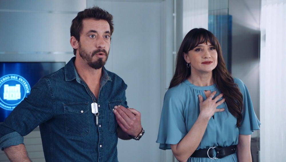 """Andrea le cede el puesto a Iñaki: """"Si el Ministro hace el ridículo nos casamos"""""""