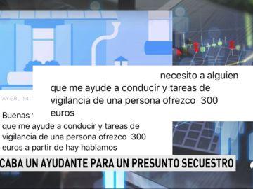 Un detenido por ofrecer 300 euros en un anuncio en Internet para quien le ayudara a vigilar a una persona