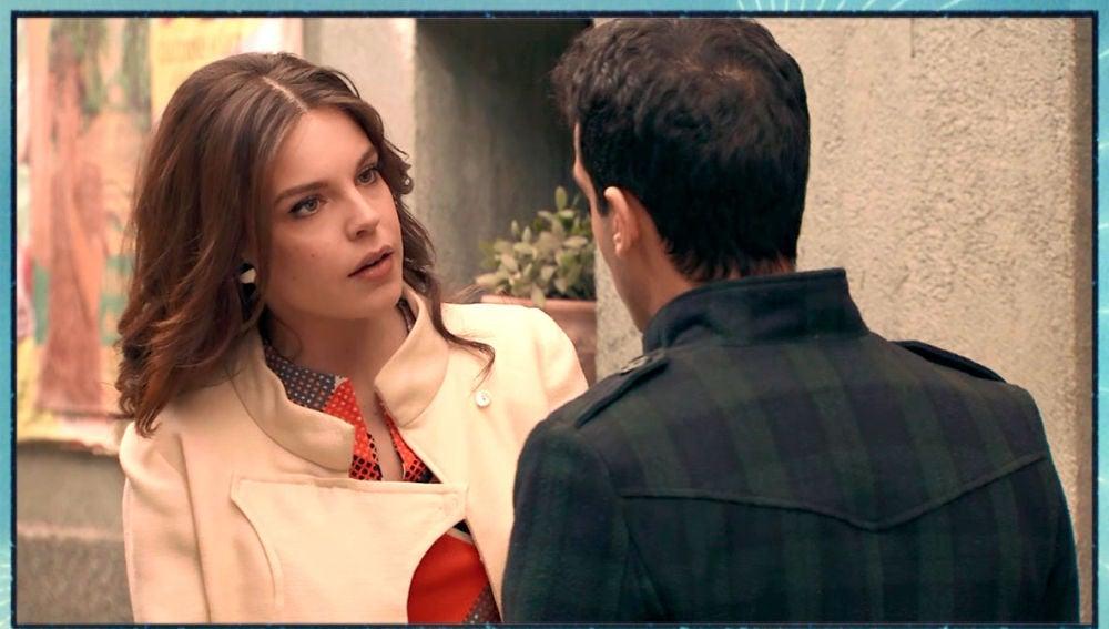 María desconfía de Ignacio