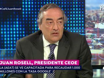 """Rosell defiende que """"es un tema de sentido común"""" que se suban las pensiones porque """"hay más crecimiento económico"""""""