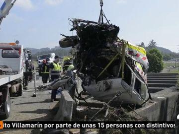 Muere un operario de mantenimiento tras chocar una furgoneta contra la suya en la A-52 en Ourense