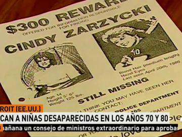 La Policía de Estados Unidos retoma la búsqueda de seis niñas que desaparecieron en los años 70 y 80